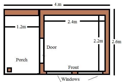 timber garden room with porch uk
