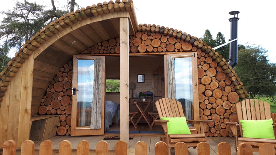 Glamping in the Mid Wales borders