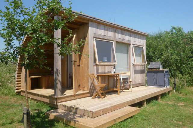 Glamping on the edge of the Dorset Downs