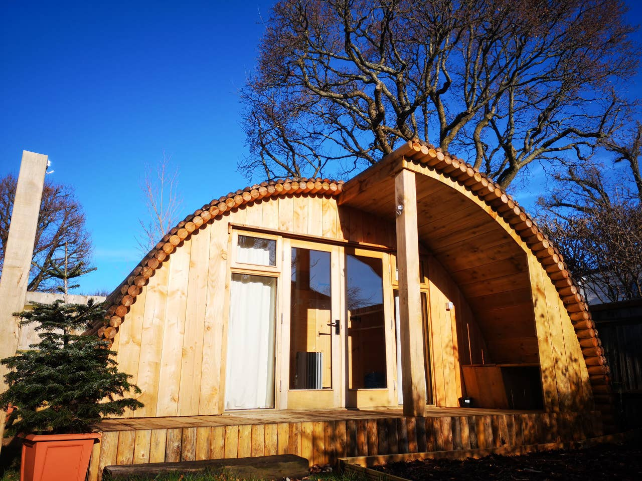 Eco pod near Brighton and the South Downs National Park