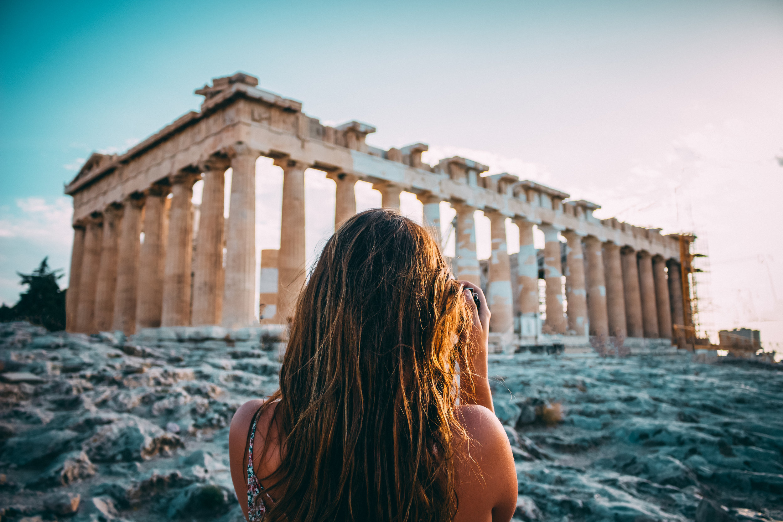 Acropolis of Athens. Photo by Arthur Yeti via Unsplash.