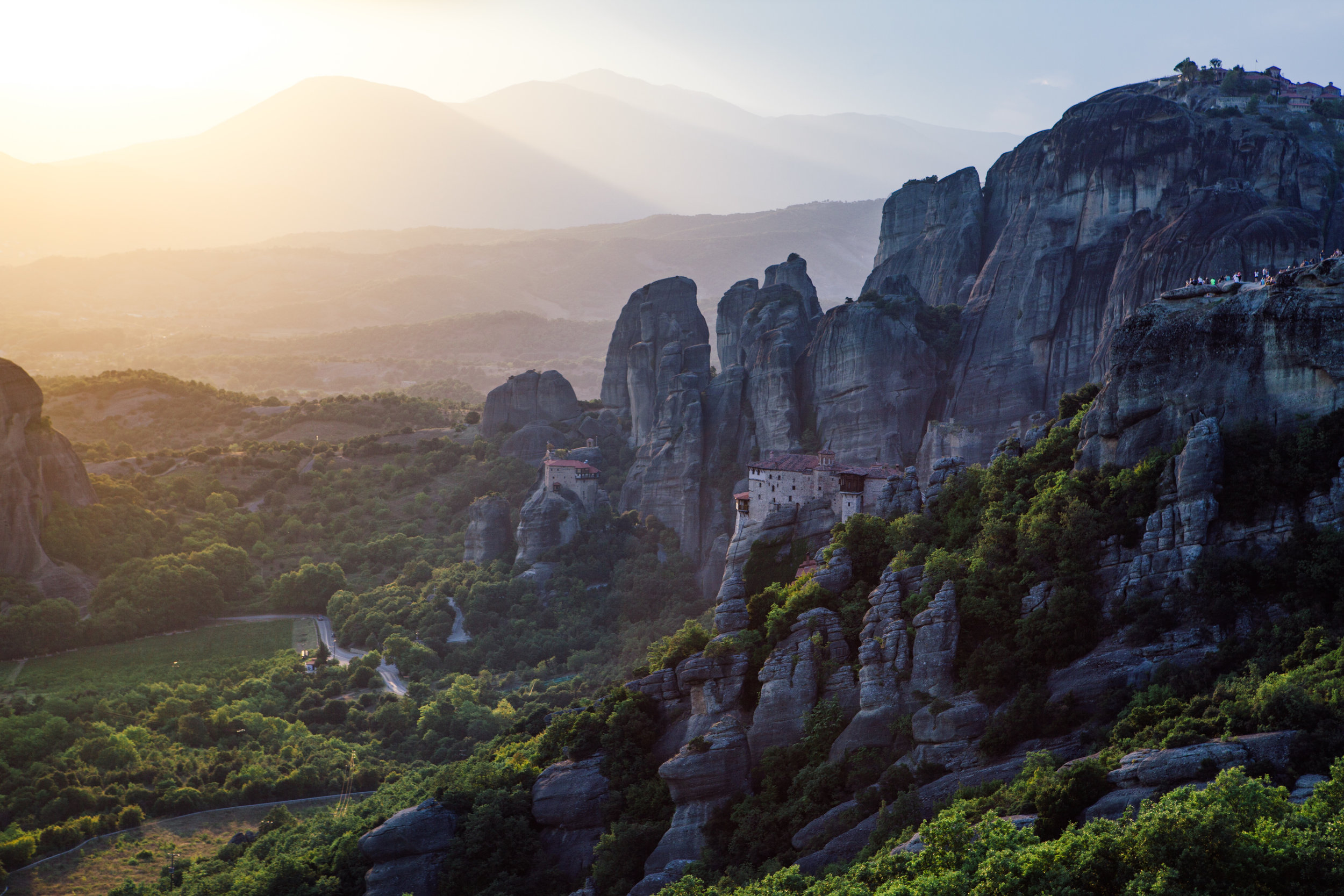 Meteora Monasteries. Photo by  Georgios Kaleadis  via Unsplash.