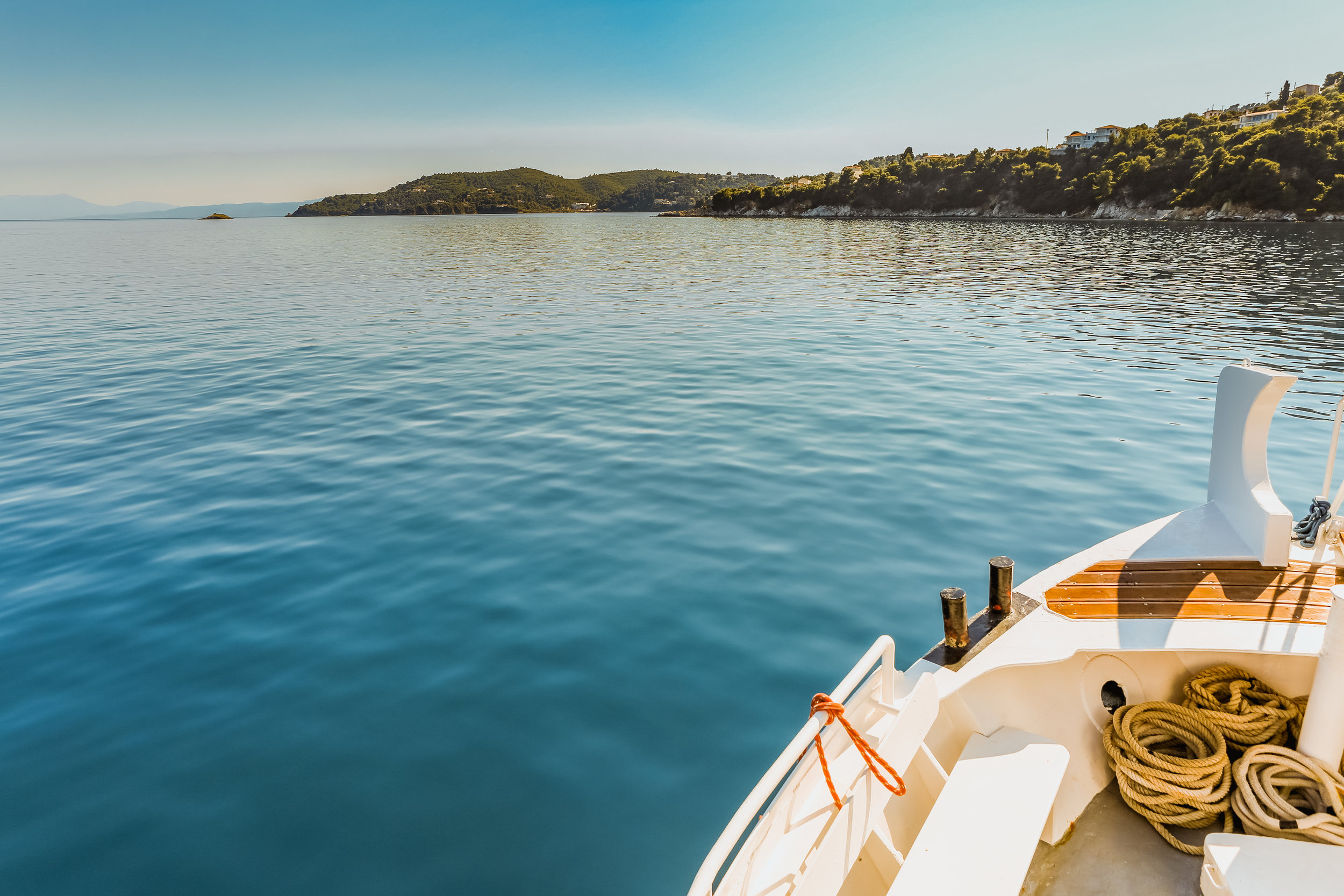 Skiathos Island. Photo by  Nick Karvounis  via Unsplash.