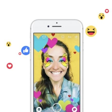 Augmented Reality on Facebook