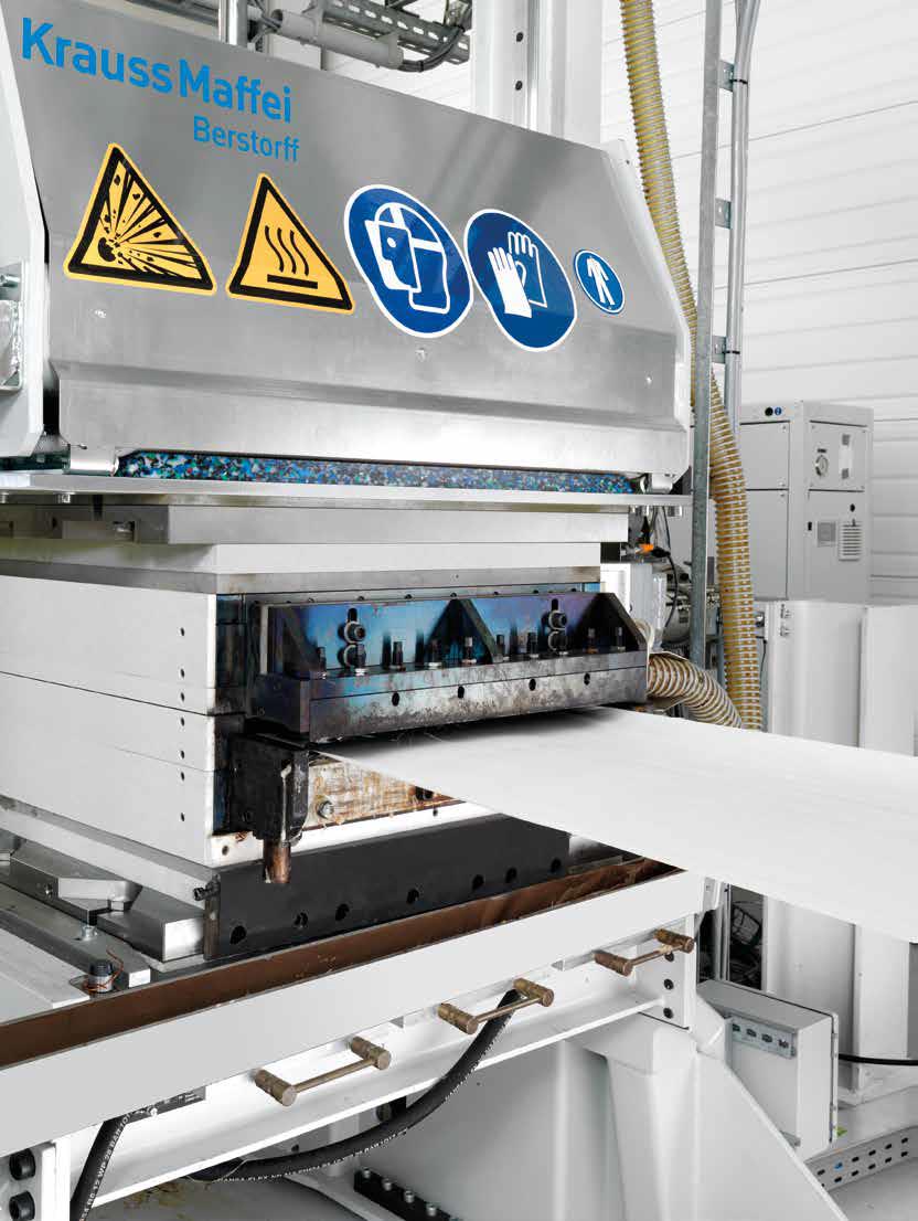Krauss Maffei Berstorff finns på plast på Fakuma 2018 och de kommer visa 3 st utrustningar:  · ZE 28 BluePower -Special Edition: Lab. extruder av dubbelskruvstyp.  · UD-tejplinje.  · Edelweiss teknologi; Recycling kompoundering.