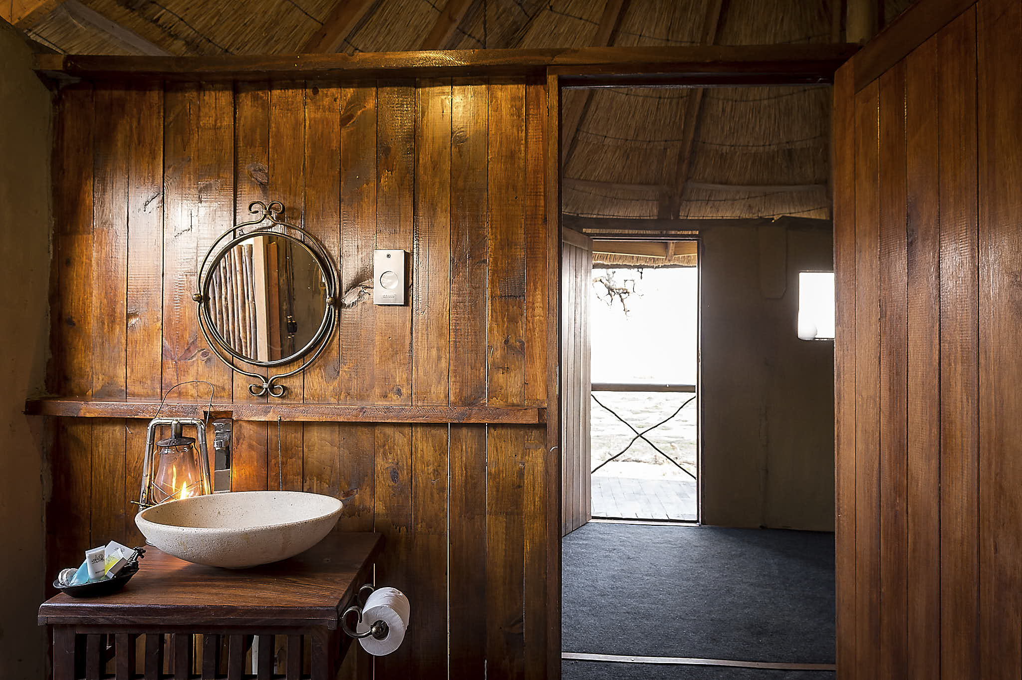 A getaway! - We offer all the comforts you may need to feel refreshed during your stay with us. Enjoy having your shower under the African starlit sky. The simple features we have intertwined in our safari getaway will make your stay magical and memorable.