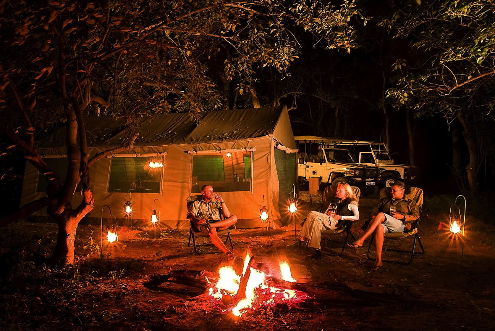Camp Savuti - Savuti is known for its excellent game and offers good sightings throughout the year.Within the park SKL operates an impressive camping ground of 14 camping sites.Book Now!