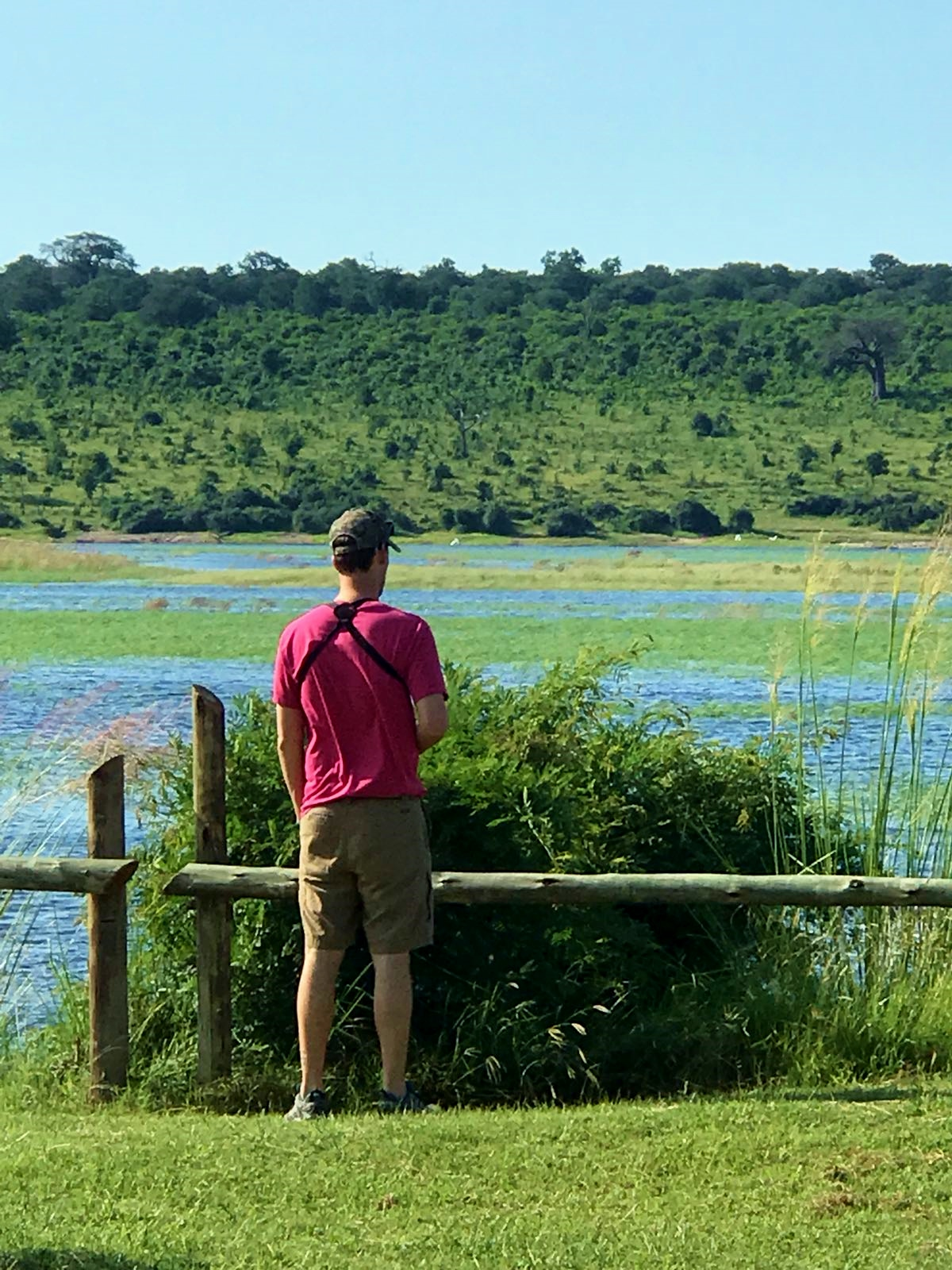 Birding along the Chobe River.