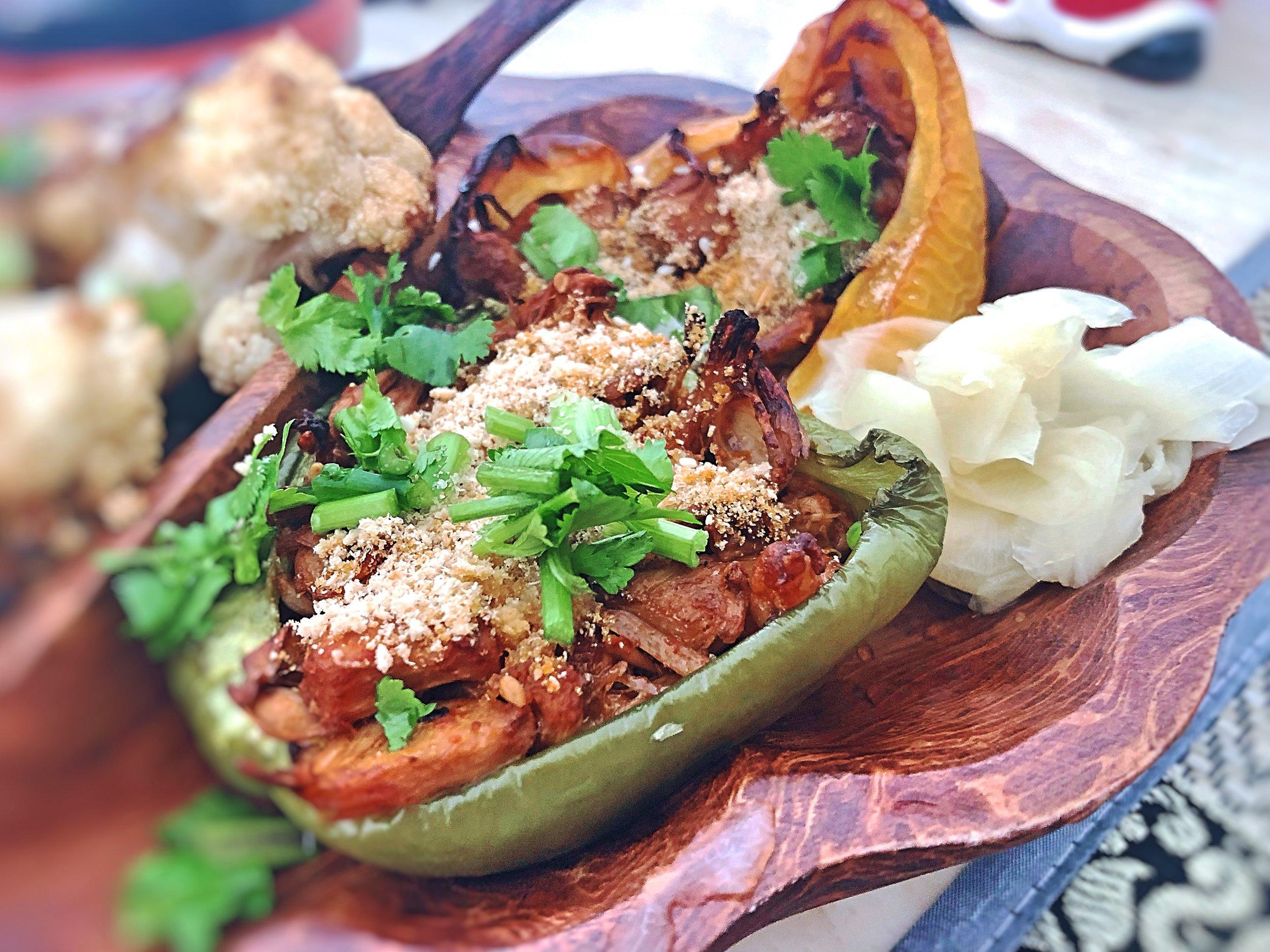 Mezze style jackfruit