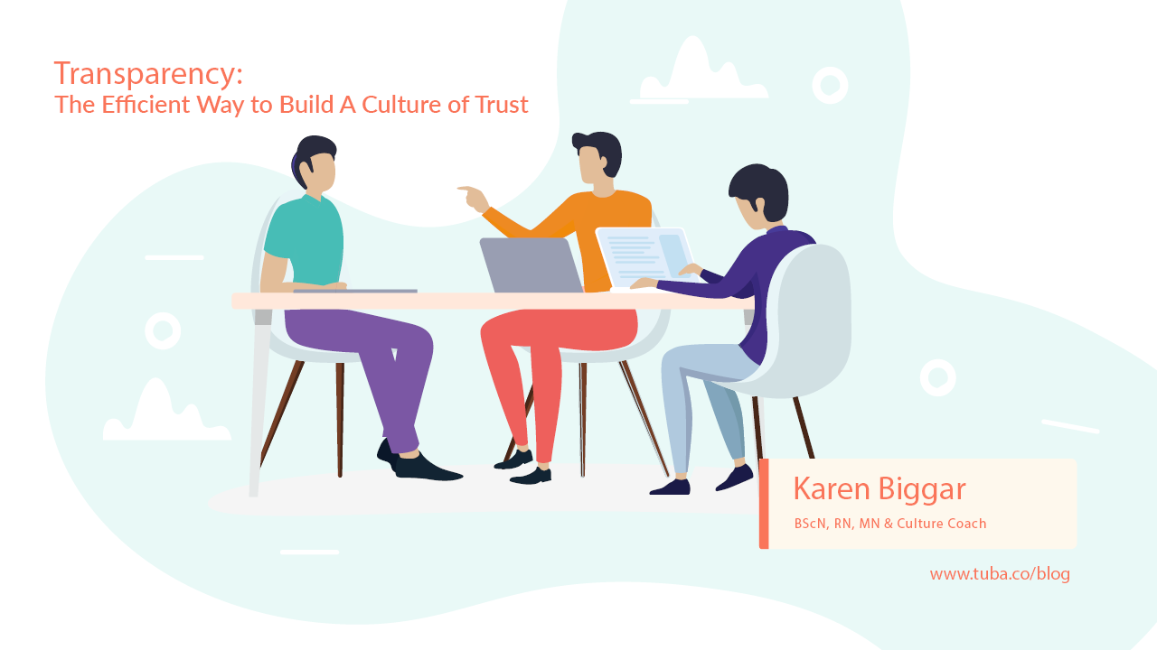 Transparency: The Efficient Way to Build a Culture of Trust - When organizations talk about trust, a paragraph on communication tends to follow. Basing trust on a team's communication pattern alone can lead to dysfunction and lack of uniformity…