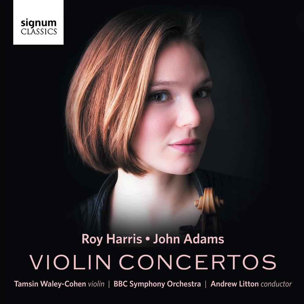 Roy Harris & John Adams Violin Concertos