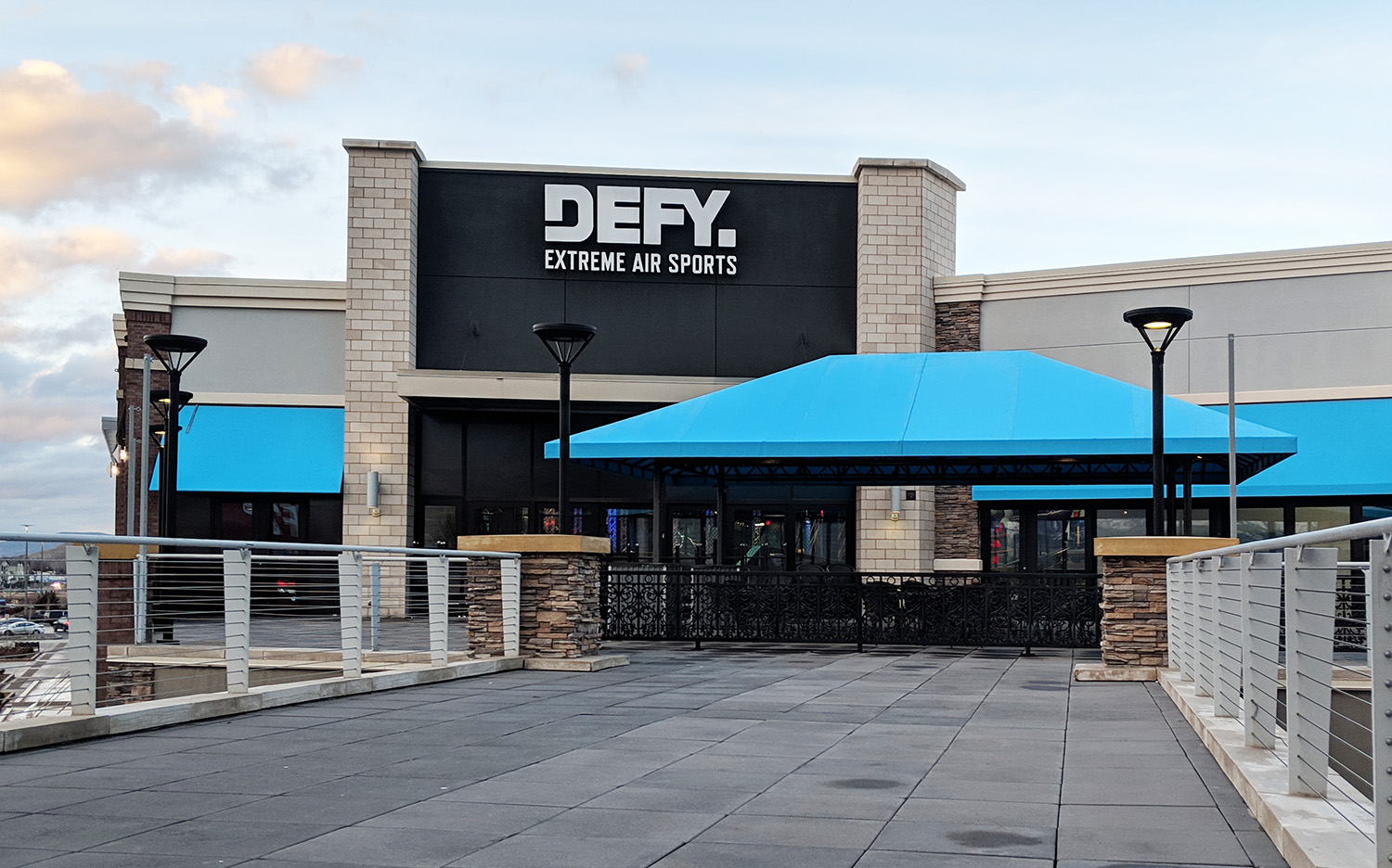 The new Defy opened above Nike early in 2019.