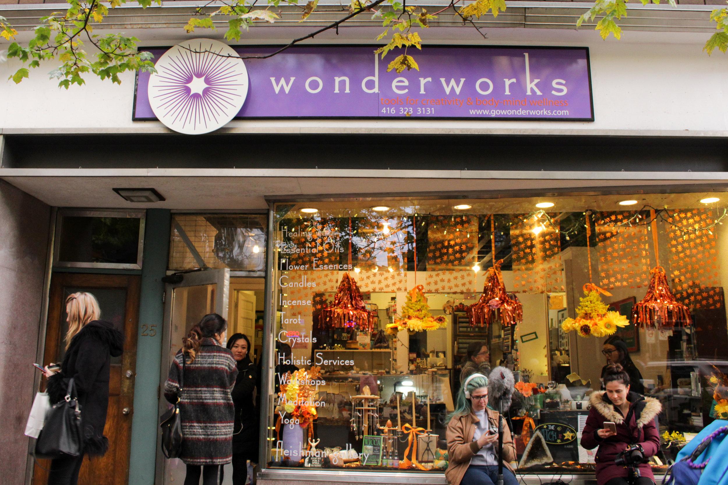 Wonderworks, located at 25 Baldwin St. (D. Dejene).