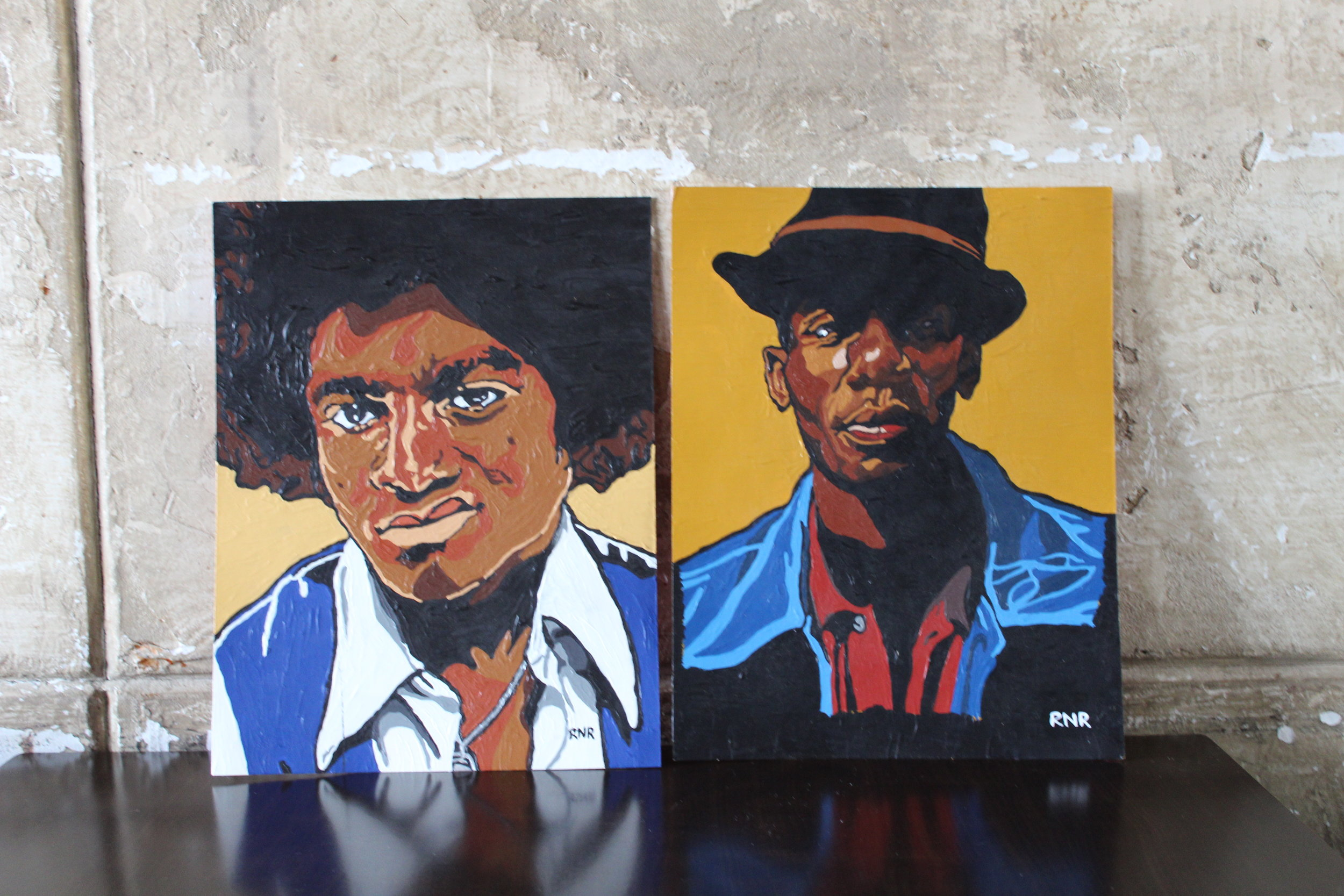 Michael Jackson and Mos Def, artist and actor (CanCulture/Madi Wong)