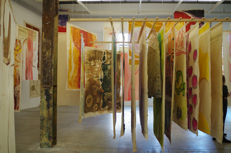 Suter's work is inspired by the landscape and nature in Guatemala, where she lives. (CanCulture/Natalie Michie)