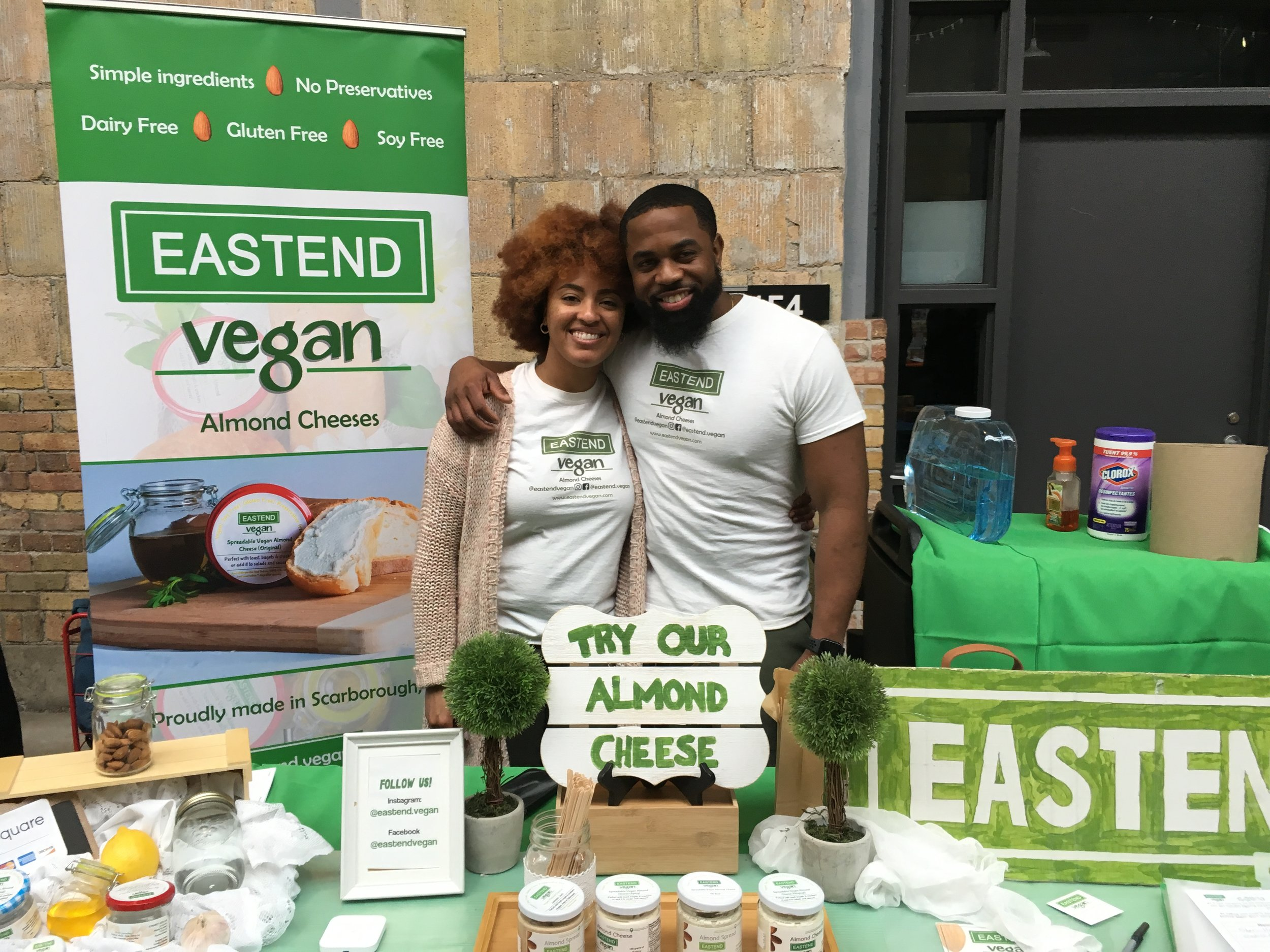 The Eastend Vegan's almond cheese came as a result of founder Melissa James' lactose sensitivity. She said that it is a light and healthy alternative to regular cheese. (CanCulture/Severina Chu)
