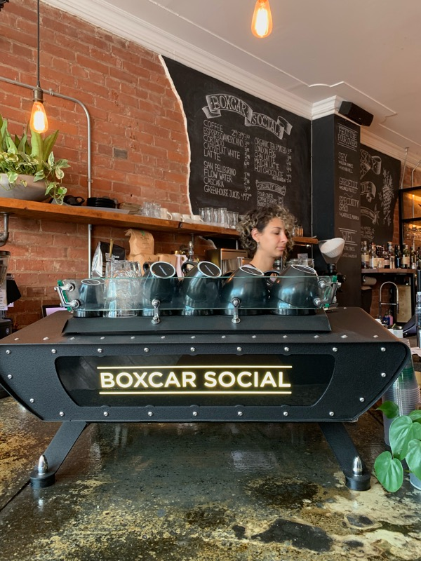 Boxcar Social in Summerhill, Toronto has unique infrastructure and a warm vibe. (CanCulture/Akanksha Dhingra)