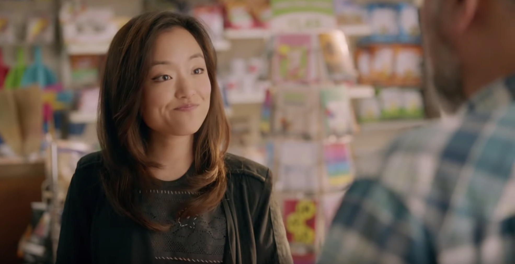 Andrea Bang as Janet Kim in   Kim's Convenience  .