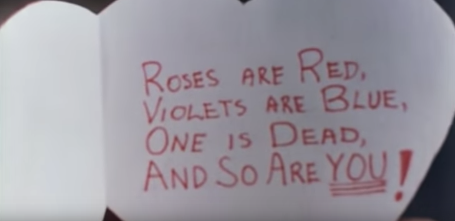 Image courtesy My Bloody Valentine Trailer via  Pyrkenstein  on YouTube