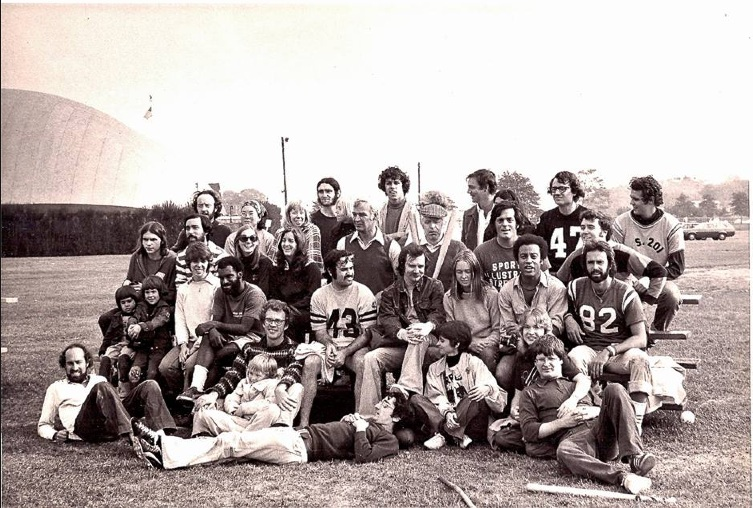 "My Sports Illustrated co-workers at our annual [Walter] ""Bingham Bowl."" We worked and played sports together, but when it came to the paychecks we received for the jobs we did I'm pretty sure the women, including me, were paid less than the guys. And since men were promoted more often than women, their salaries rose quicker and higher, too."