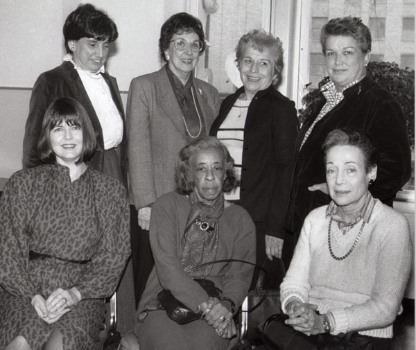 Women who worked for The New York Times and in 1974 sued the newspaper for gender discrimination