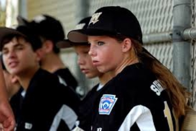 "12-year old Michaela Silher was the only girl playing on her Little League team in Port St. Lucie, Florida. ""It's hard being a girl and going into baseball because you don't get the respect sometimes that you want,"" Sihler told the TC Palm, on a day when she was also the only girl on any team in the baseball tournament,"