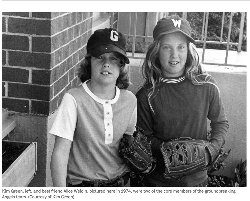 Girls in Baseball 1974 Kim Green.jpeg