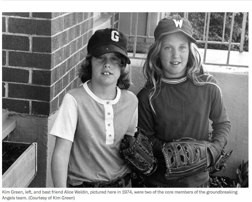 Girls in Baseball 1974 Kim Green.jpeg