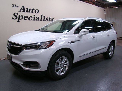 2019 BUICK ENCLAVE ESSENCE AWD $34,988 * 21k miles * Leather Seats * Automatic Headlights * Remote Engine Start * Back-Up Camera * SKU: 8221  Find Listing: https://www.theautospecialists.net/Listing/232639/2019-Buick-Enclave-Essence-AWD.aspx  All Listings: https://www.theautospecialists.net/