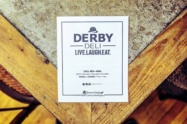 Grab a bite at the #derbydeli we're open Tuesday - Saturday from 11am - 7pm! 🥪🧀🥖