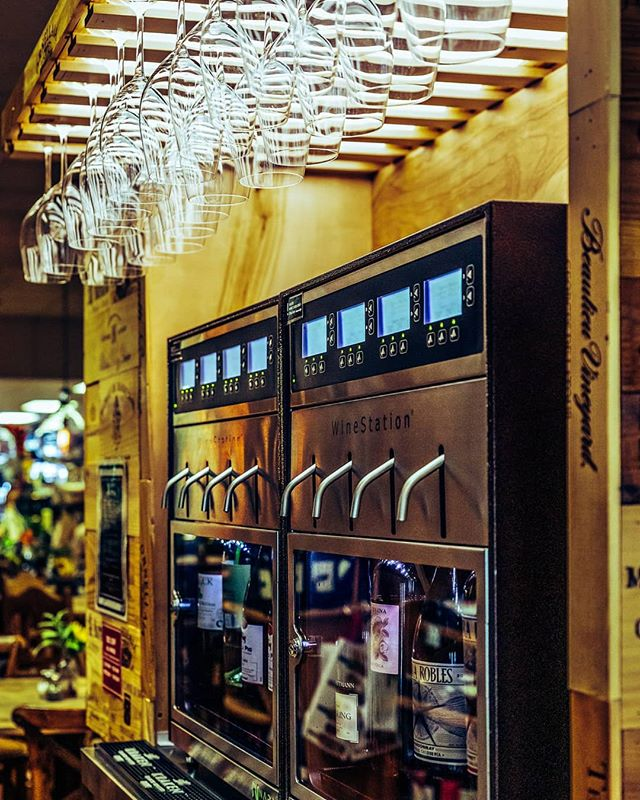 Thirsty Thursday calls for the Wine Kiosk! 🍷 Simply insert your SmartCard, select the wine of your choice, and drink it right here in the store!