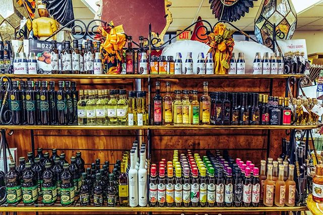 Our marketplace has everything from olive oil to unique flavored glazes and more! ✨ Find anything you could need to help a meal pair perfectly with our wines.