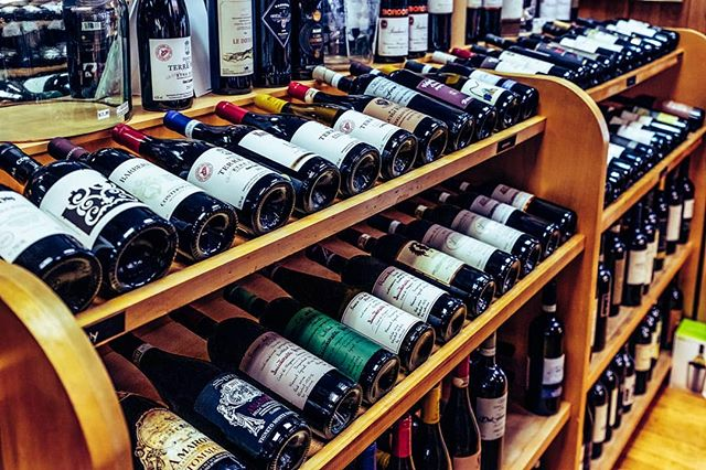 Our extensive wine selection is always growing! 🍷 Stop by the International Wine Center and Marketplace and find and drink your perfect wine!