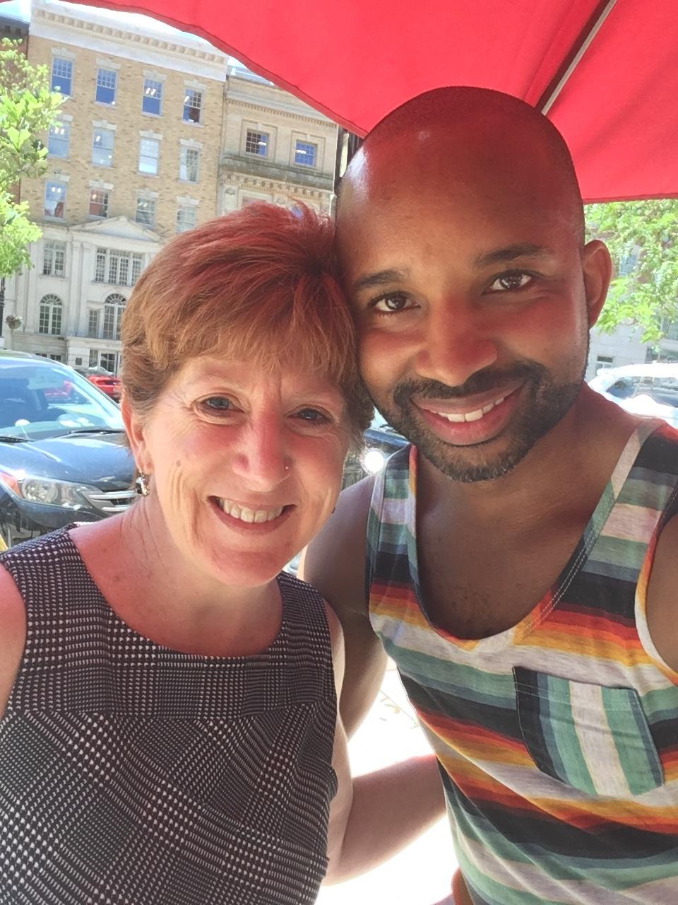 Me with Kathy Sheehan: Mayor of Albany, NY.
