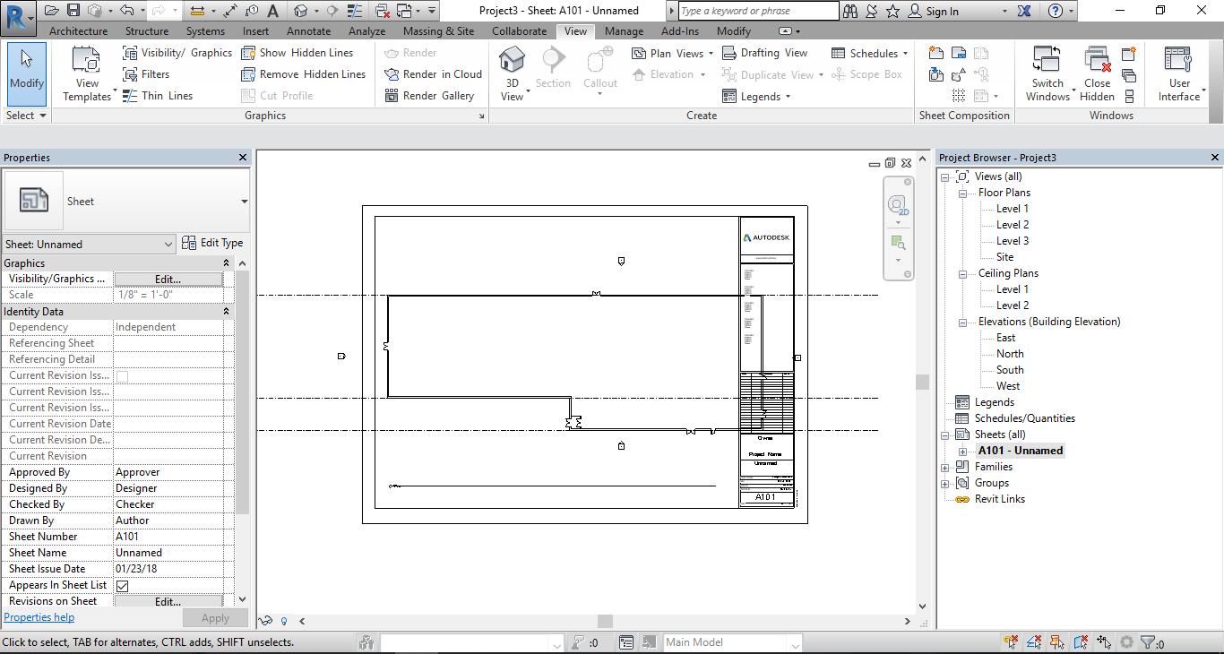 Revit Floorplan doesn't fit on the sheet!