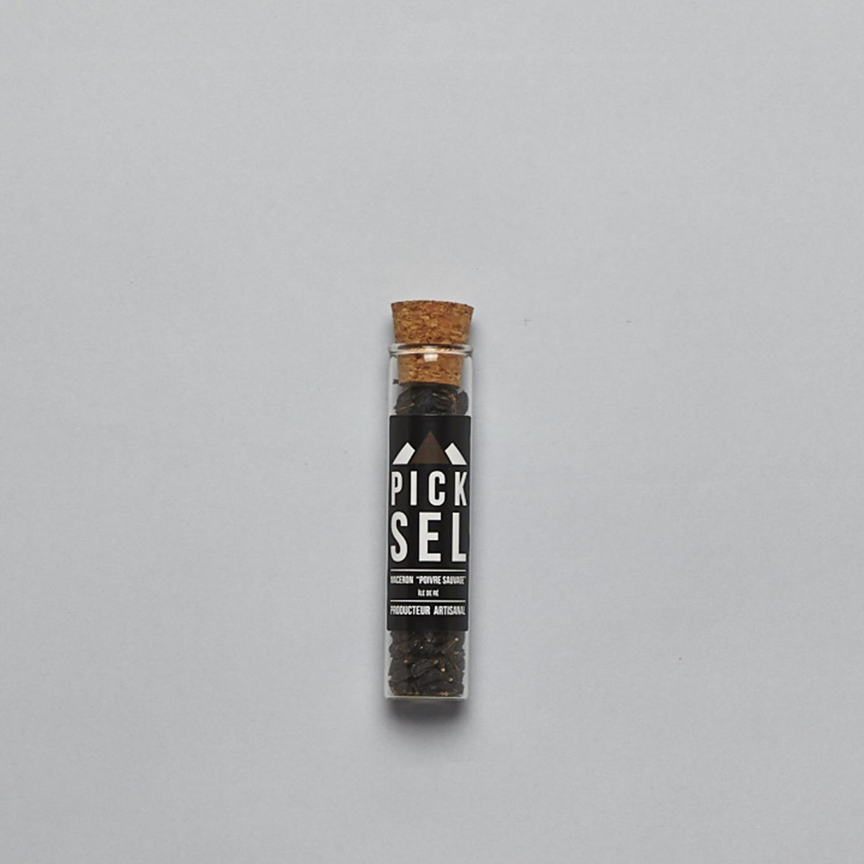 picksel-producteurartisanal-iledere-lacouarde-eprouvette-verre-12g-maceron-poivresauvage-plante-cuisine-moulin.jpg