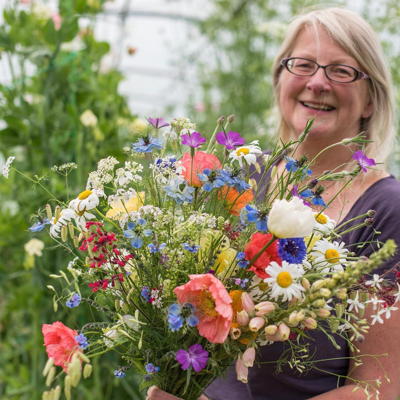 Carol Siddorn of Carol's Garden in Cheshire, NW England