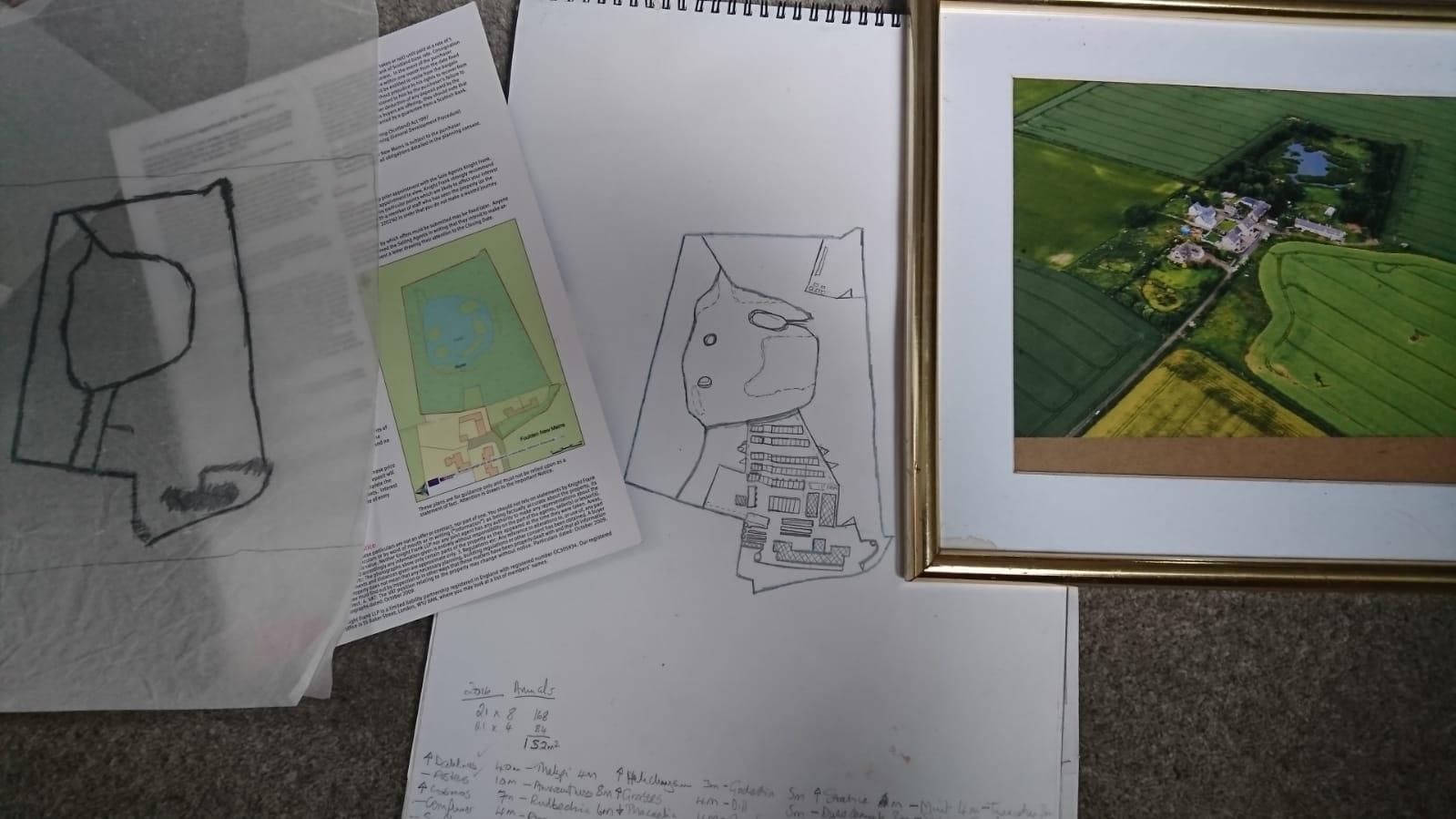 Plans of Millpond Flower Farm