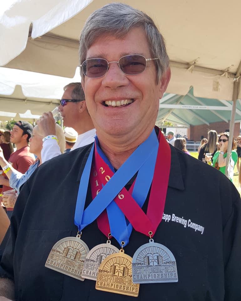 Greg enjoying Brewers Ball & his well deserved medals!