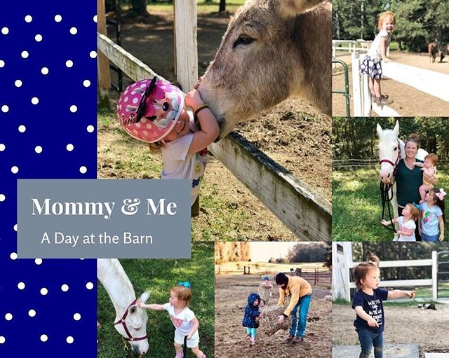 There's something NEW coming to Creekside!! ⁣ ⁣ Mommy & Me, A Day at the Barn starts on Wednesday, October 2nd.  RESERVE YOUR SPOT TODAY!! ⁣ ⁣ Link in Bio ➡️