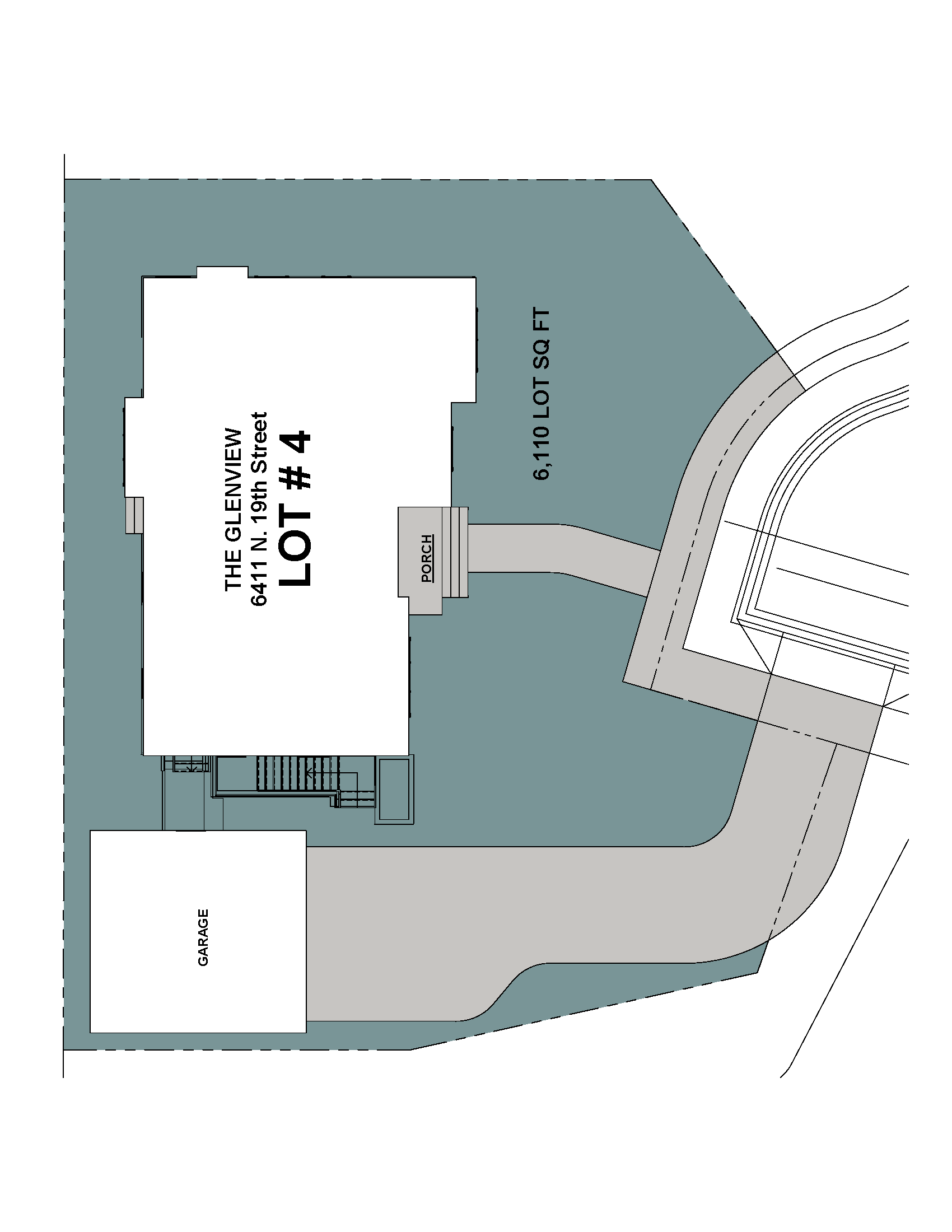 Lot 4 Site Plan-6411 N 19th Street- The Glenview Model.png