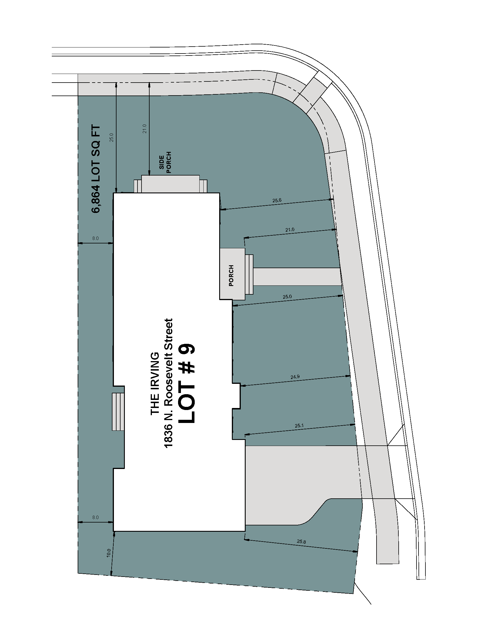 Lot 9 Site Plan-1836 N Roosevelt Street-Irving Model.png