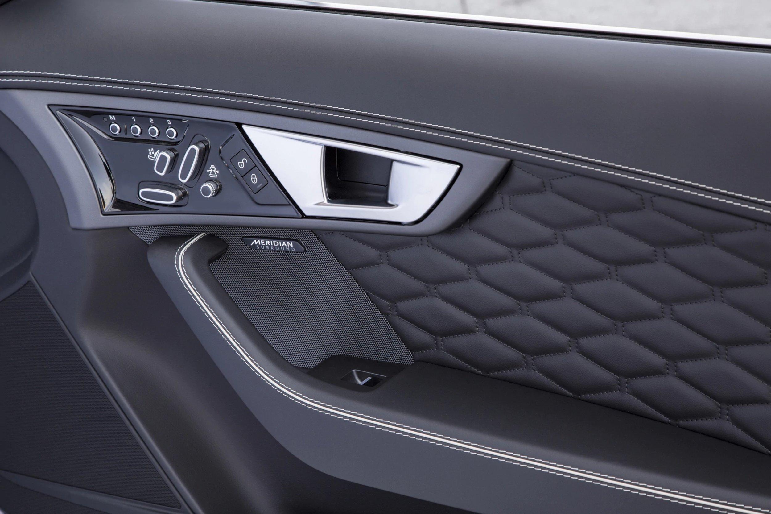 Jaguar F Type Project-7 interior door panel
