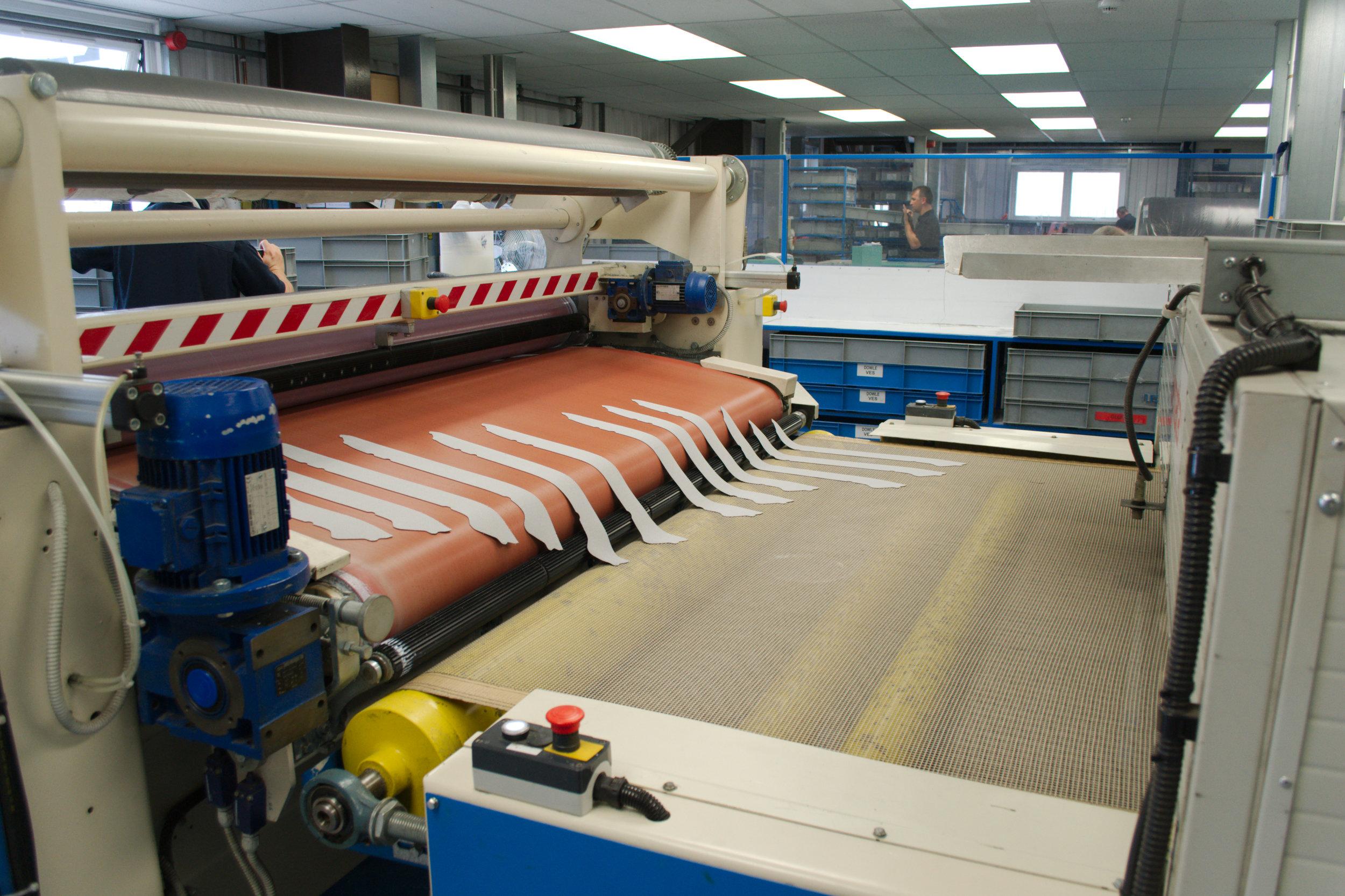 Adhesive Roller Coating Drying Belt
