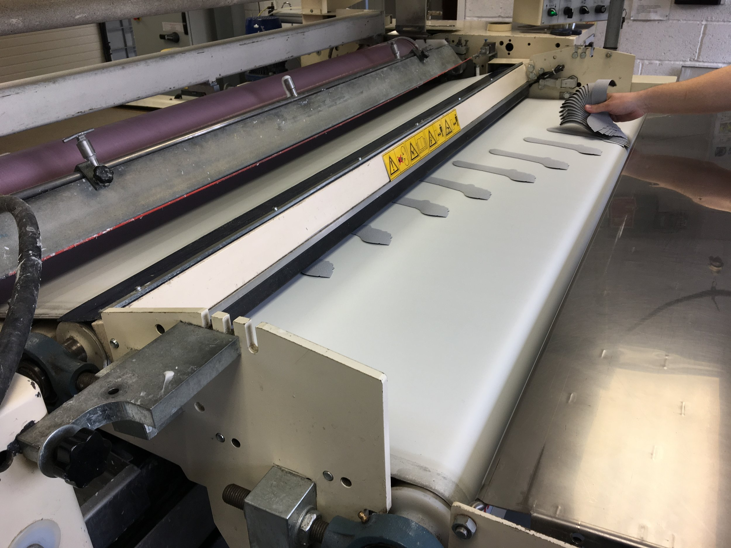 Adhesive Roller Coating