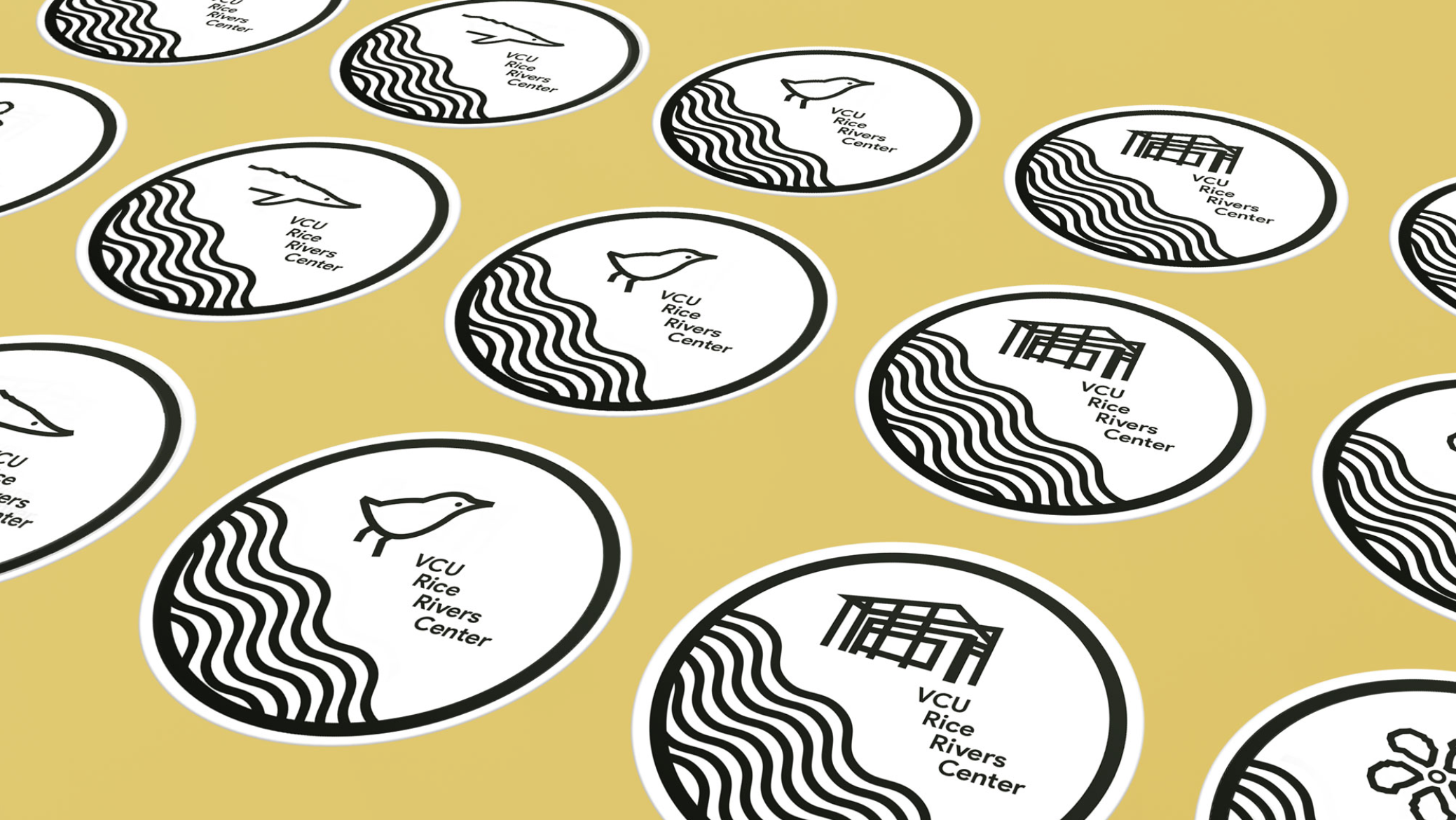 Mission Badge Stickers