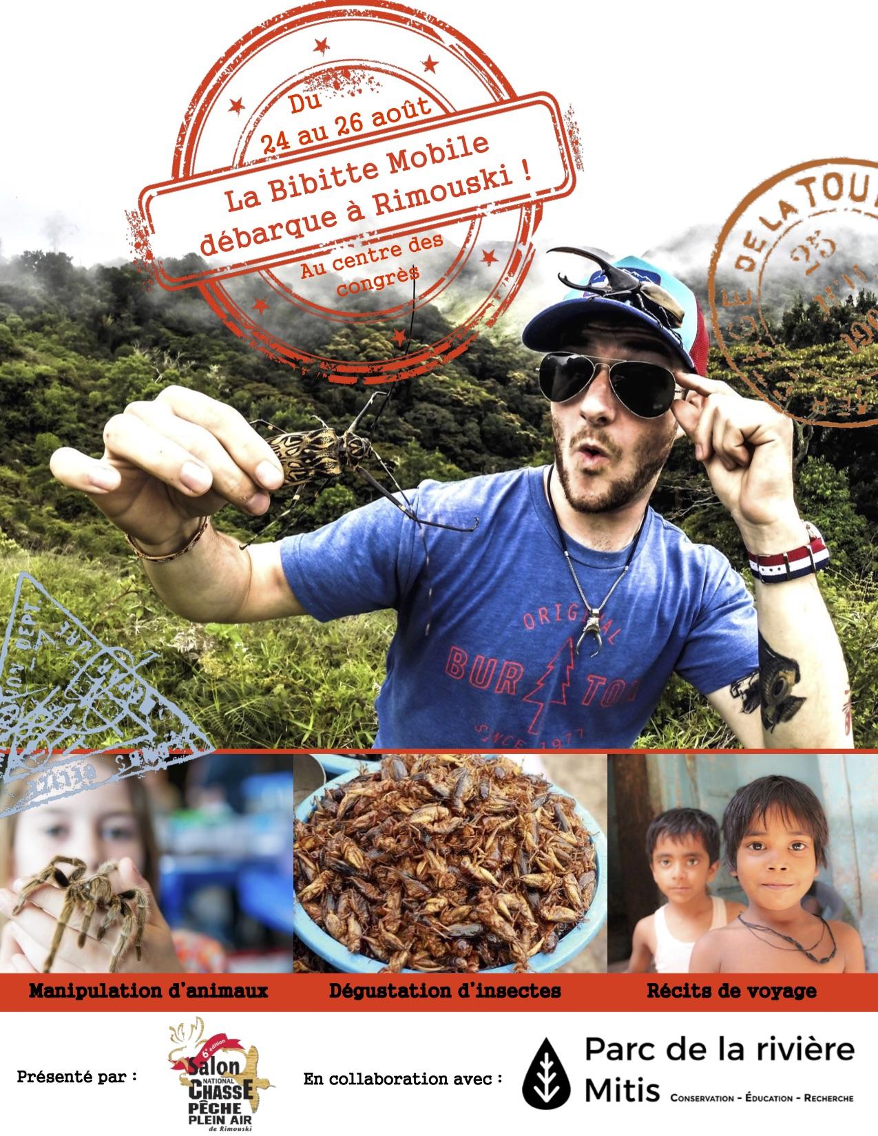 Le 6e Salon au goût du monde !    Les visiteurs pourront déguster insectes nature ou assaisonnés