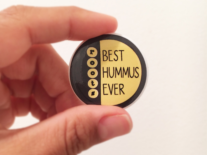 Roots Hummus - Best Hummus Ever Button