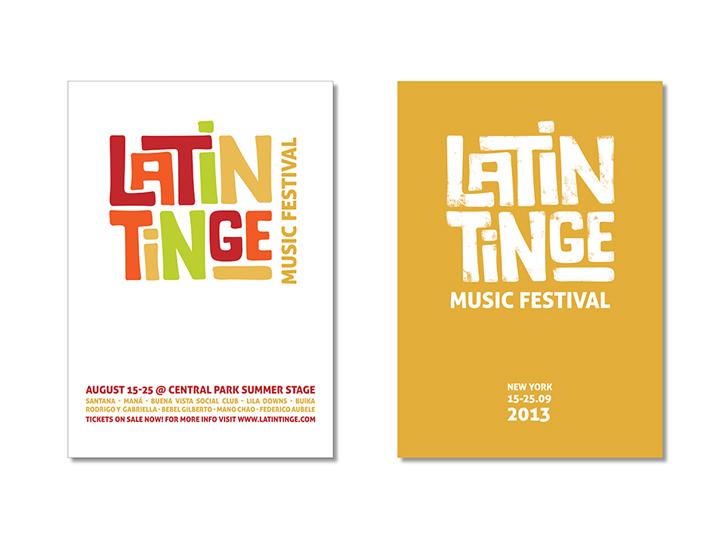 Latin Tinge Music Festival - Flyers