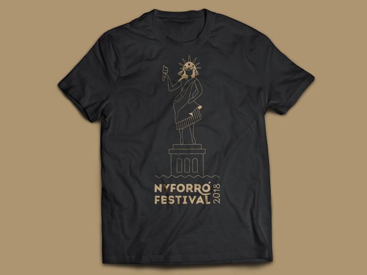 New York Forro Festival T-Shirt